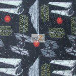 Licensed Star Wars Fleece Millenium falcon