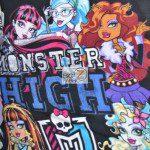 Low Price Monster High Fleece Fabric Panel