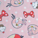 Low Price Angry Birds Fleece Fabric Stella Pink