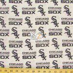 LOW PRICE MLB COTTON FABRIC CHICAGO WHITE SOX