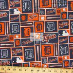 LOW PRICE MLB COTTON FABRIC DETROIT TIGERS