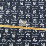 LOW PRICE MLB COTTON FABRIC NEW YORK YANKEES