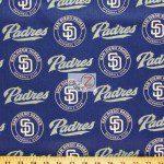 LOW PRICE MLB COTTON FABRIC SAN DIEGO PADRES