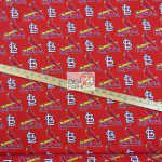 LOW PRICE MLB COTTON FABRIC ST. LOUIS CARDINALS