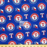LOW PRICE MLB COTTON FABRIC TEXAS RANGERSLOW PRICE MLB COTTON FABRIC TEXAS RANGERS