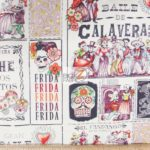 Low Price Alexander Henry Baile De Calaveras Cotton Fabric
