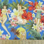 Low Price Alexander Henry Island Girls 60's Bikinis Cotton Fabric