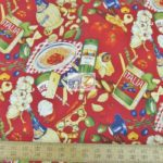 Low Price Alexander Henry Italian Dinner Cotton Fabric