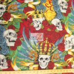 Low Price Alexander Henry Skullduggery Cotton Fabric