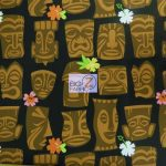 Low Price Alexander Henry Tahiti Tiki Cotton Fabric
