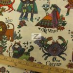 Low Price Alexander Henry Zodiac Signs Cotton Fabric