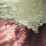 Low Price Reversible Mermaid Sequins Fabric Burgundy/Champagne