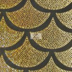 Low Price Scale Foil Nylon Spandex Fabric Gold
