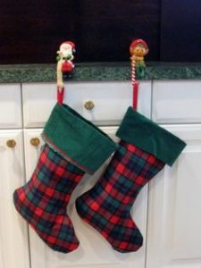 Plaid Flannel Christmas Stockings