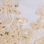 Anastasia Floral Sequins Lace Fabric Skin