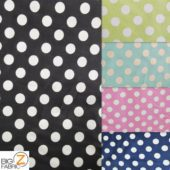 Low Priced Big Polka Dot Riley Blake 100% Cotton Duck Fabric