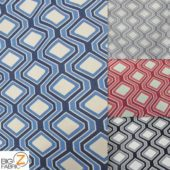 Low Priced Rhombus Riley Blake 100% Cotton Duck Fabric