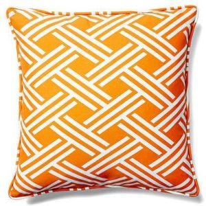 Lattice Outdoor Fabric Cushion