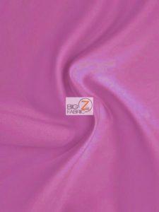 Solid Medium Weight Shiny Satin Fabric Fuchsia