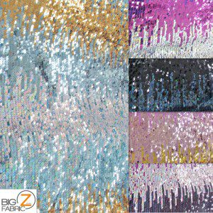 1 Collage Low Price Moon Shadow Sequins Fabric