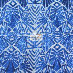 Low Price Geometric Sequins Fabric