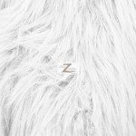 Low Priced Solid Gorilla Fur Fabric White