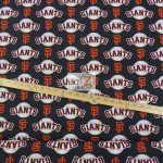 LOW PRICE MLB COTTON FABRIC SAN FRANCISCO GIANTS
