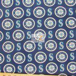 LOW PRICE MLB COTTON FABRIC SEATTLE MARINERS