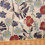 Low Price Alexander Henry Blue Bell Cotton Fabric