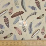 Low Price Alexander Henry Iroquois Indian Feathers Cotton Fabric