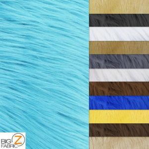 Low Price Grizzly Shaggy Fur Fabric