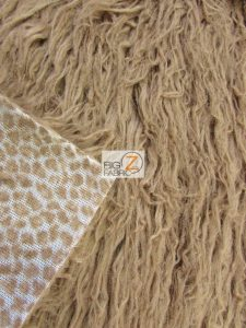 Low Price Curly Alpaca Fur Fabric Backing