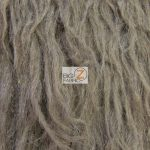 Low Price Curly Alpaca Fur Fabric Pewter