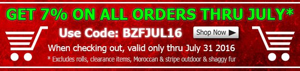 Big Z Fabric July 2016 Discount Coupon
