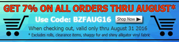 August Big Z Fabric Hot Sale