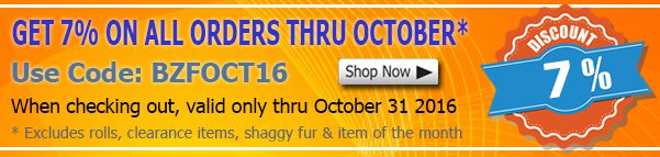 October 2016 Quality Fabric Discount