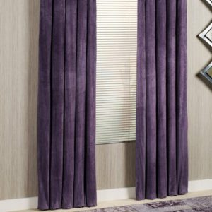 Passion Suede Fabric Curtains