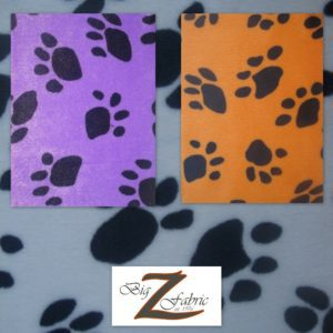 Low Price Paw Velboa Fabric