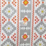 Low Price Aztec Riley Blake Cotton Duck Fabric Gray