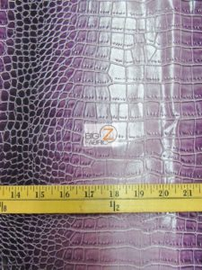 Low Price Dragon Gator Vinyl Fabric Measurement