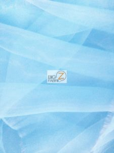 Ballet Tutu Tulle Fabric Light Blue