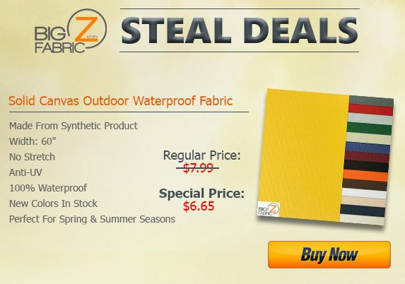 Outdoor Waterproof Fabric Steal Deal