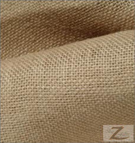 Natural Burlap Fabric